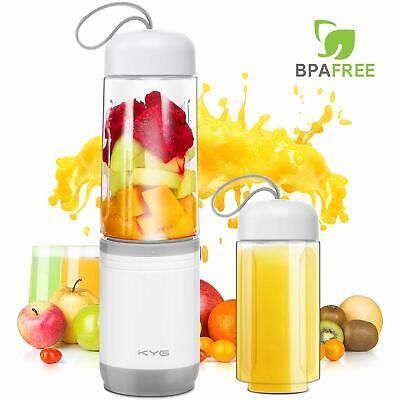 NEW Blender 2en1 MINI Électrique Mixeur Portable fruits acier inoxydable Design
