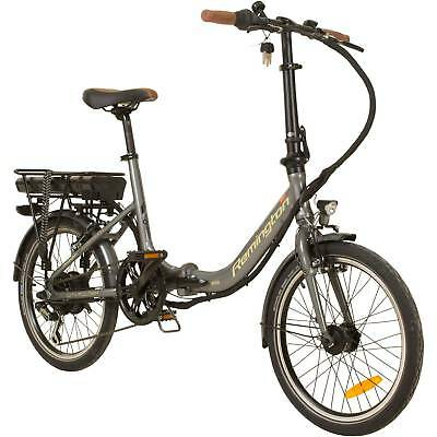 Faltrad Klapp E-bike Pedelec 20 Zoll Remington City Folder StVZO silber B-Ware gebraucht kaufen  Adlersteige