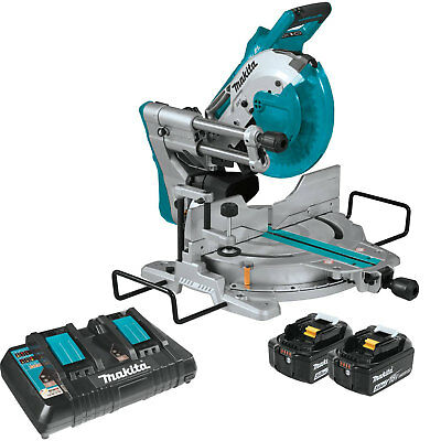 Makita X2 LXT Brushless Cordless Dual Bevel Sliding Compound Miter Saw w/ Laser