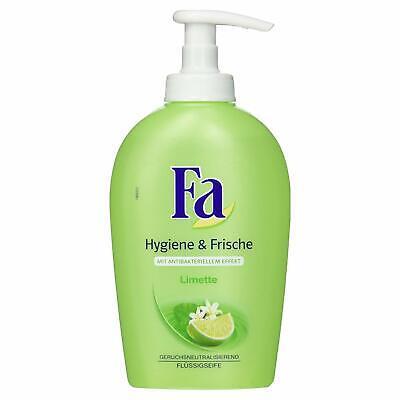 Fa Flüssigseife Hygiene und Frische Limette, 250 ml