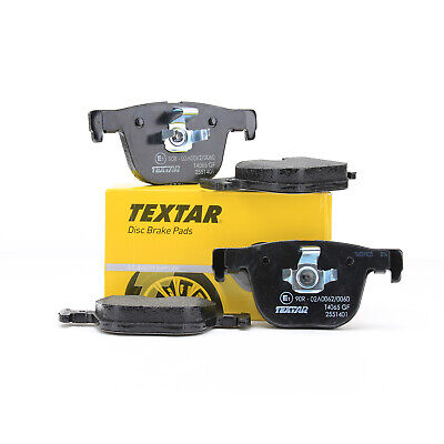 TEXTAR Bremsbeläge Bremsbelagsatz für BMW 3er F30 F31 F34 4er F32 F33 F36 hinten