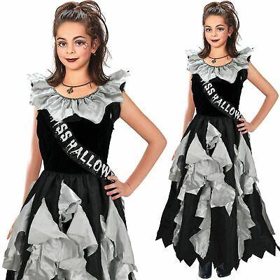Mädchen Zombie Prom Queen Kostüm Horror Halloween Kostüm - Mädchen Zombie Prom Queen Kostüm