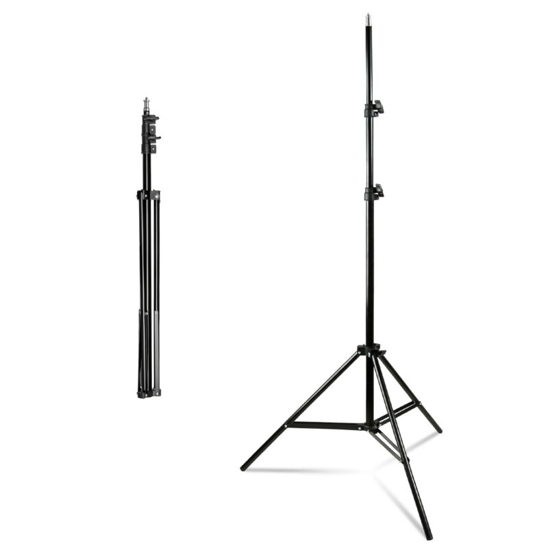 Photography Studio Tripod Light Flash Lighting Softbox Speedlight Umbrella Stand