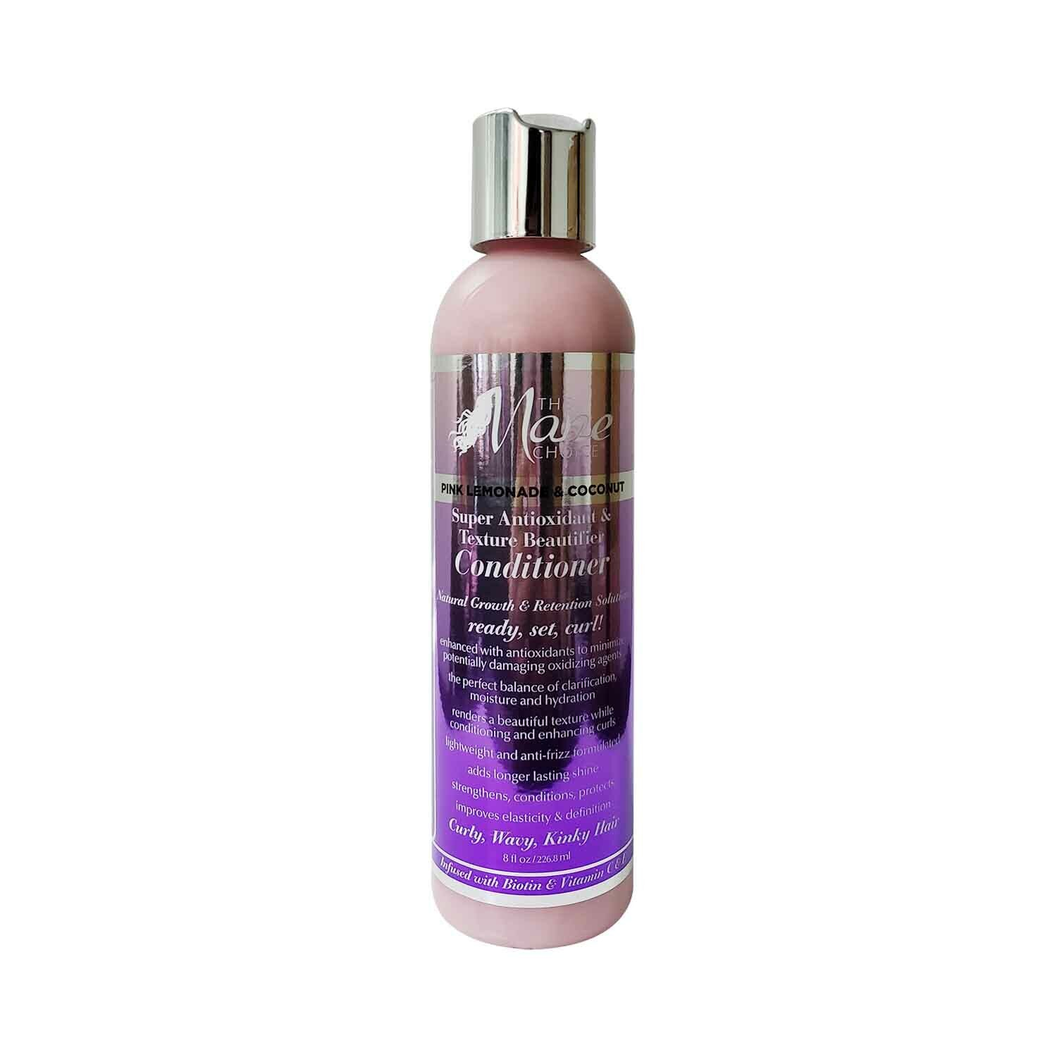 The Mane Choice Pink Lemonade & Coconut Super Antioxidant Conditioner 8 Oz. Hair Care & Styling