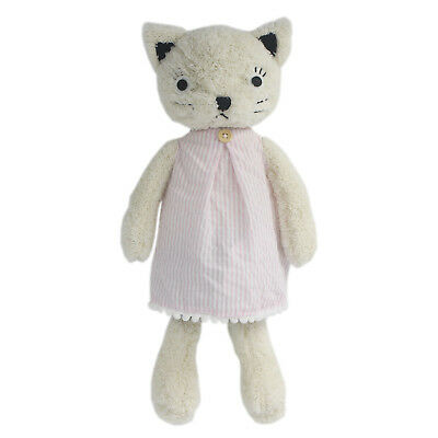 JIARU Stuffed Animals Toys Cat Plush Soft Adorable Dressed Dolls (White 13 Inch) - Adorable Stuffed Animals