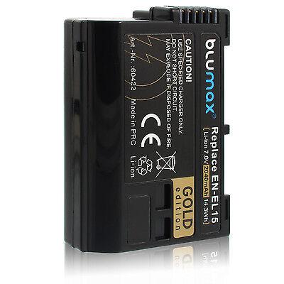Akku für Nikon EN-EL15   60422   2040mAh  D600 D800 D7000 D7100 D8000 Nikon 1 V1