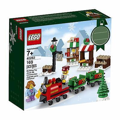 Lego 40262 Seasonal Lego Christmas Train Ride New Building Set NISB