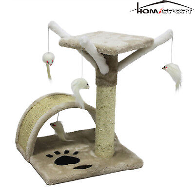 Cat Tree Kitten Climbing Activity Center Scraching Post Play Toy Funiture -
