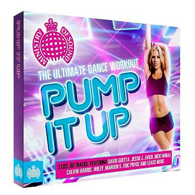 Pump It Up: The Ultimate Dance Workout [Box] by Various Artists (CD, Dec-2012, 3