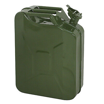 5 Gal 20l Gas Gasoline Fuel Army Jerry Can Military Metal Steel Tank Backup