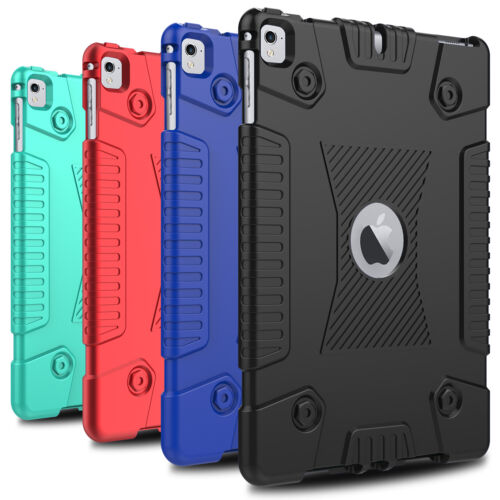 For iPad 9.7 inch/6th Gen/10.2 8th/7th/Air 2 Case Protective Soft Rubber Cover