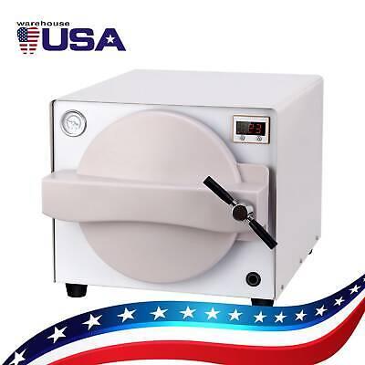 18 L Dental Autoclave Steam Sterilizer Medical Sterilization Lab Equipment