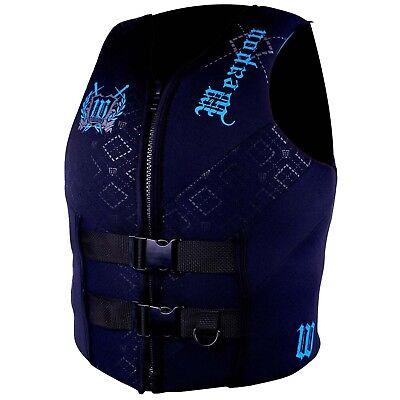 Williams Mens Weapon Waterski Wakeboard Vest Life Jacket BLUE Size 6XL