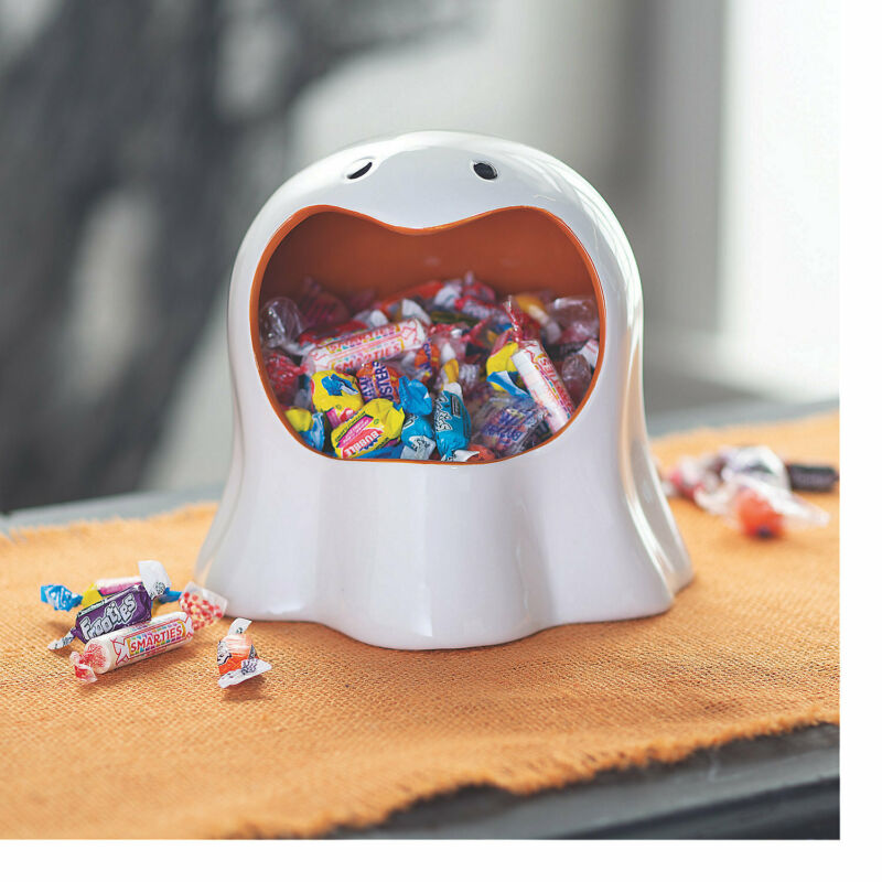 Ghost Ceramic Candy Dish - Home Decor - 1 Piece