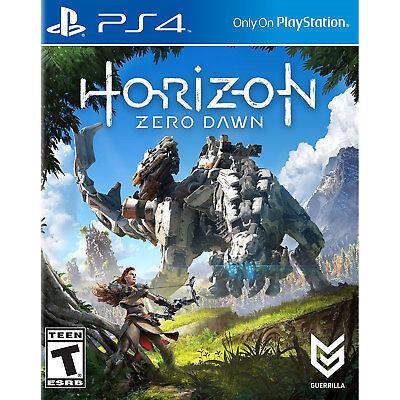 Horizon  Zero Dawn Ps4  Factory Refurbished