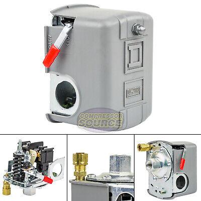 Square D 95-125 Psi Air Compressor Pressure Switch Control Valve 9013fhg12j52m1x