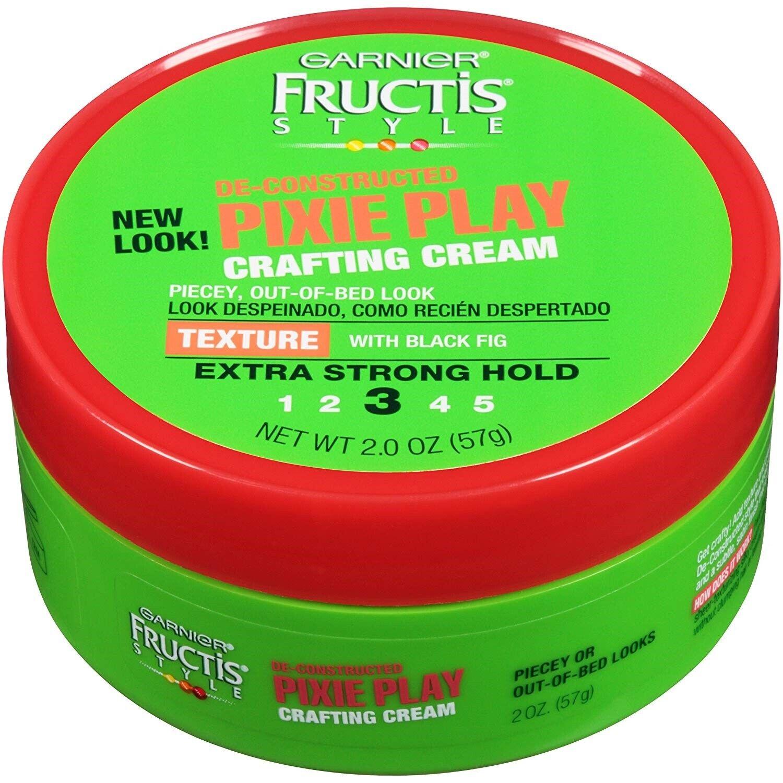 Garnier Fructis Style Pixie Play Crafting Cream, All Hair Ty