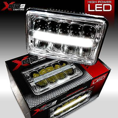 LED Headlamp Headlights Sealed Beam Replacement Left Right Set Two Pieces