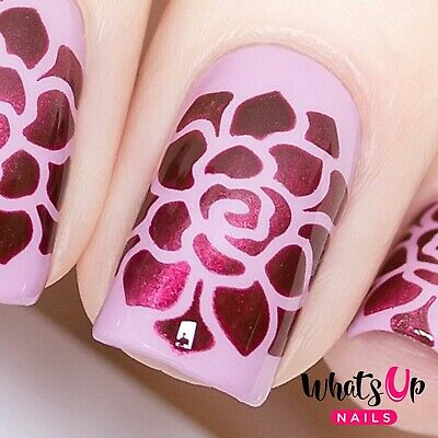 Succulent Stencils for Nails, Nail Stickers, Nail Art, Nail Vinyls for sale  Tempe