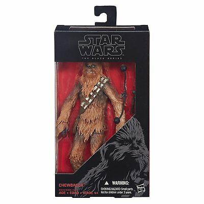 StarWars Chewbacca 6 inch The Force Awakens BlackSeries Figure Hasbro