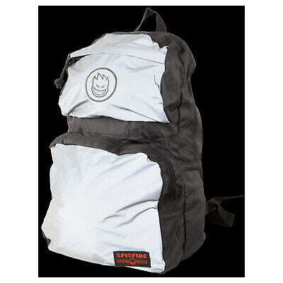 Spitfire Wheels Skateboard Backpack Bighead Circle Packable Black/Reflective