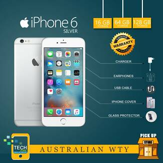 Pre-Owned IPhone 6 , 16 & 64 GB W/4 Months Warranty @TechZone