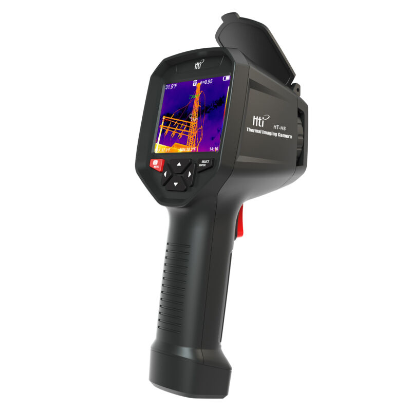 HT-H8 Infrared Thermal Imager&Visible Light Camera,IR Resolution 384X288 Pixels