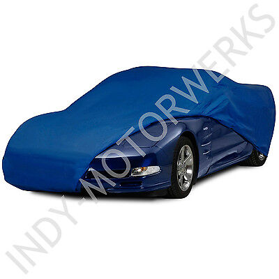 C5 CORVETTE SEMI CUSTOM BLUE CAR COVER FITS ALL 97 04 CORVETTES