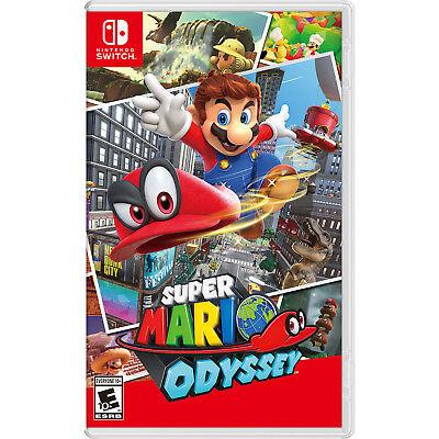 Super Mario Odyssey Switch  Factory Refurbished