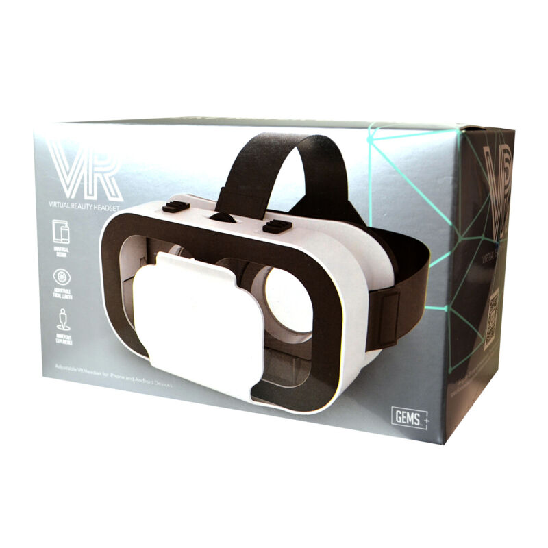 GEMS - VR Headset for iPhone and Android Devices [Brand New]