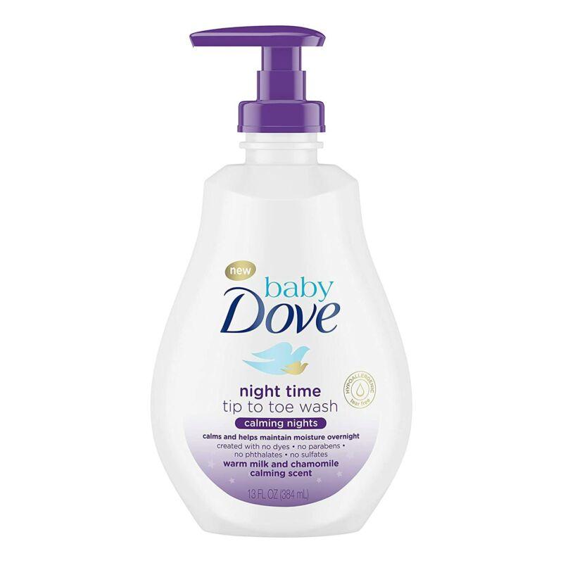 Baby Dove Tip to Toe Wash and Shampoo Calming Nights 13 oz