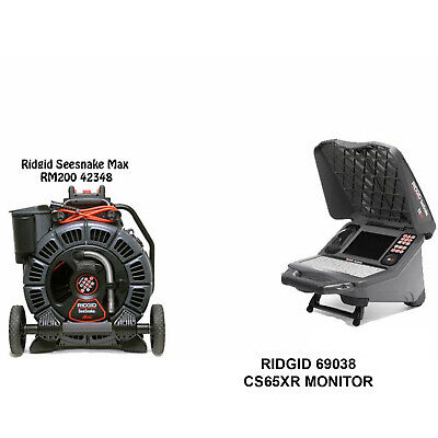 Ridgid Seesnake Max Reel 42348 Cs65xr With Wifi 2 Batteries And 1 Charger 69038