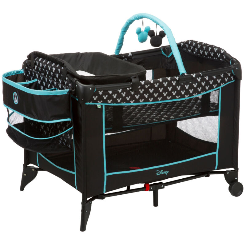 BABY PLAYPEN 😍 😱 INFANT CRIB NEWBORN PLAY YARD COT TODDLER CRADLE SLEEPER TOYS