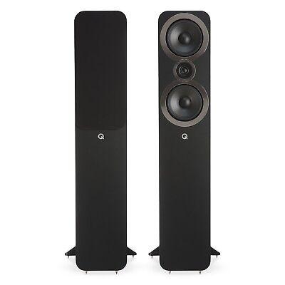 Q Acoustics 3050i Floorstanding Speaker Pair (Carbon Black) for sale  Atlanta