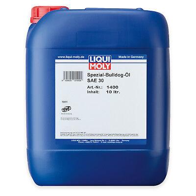 LIQUI MOLY 1400 Spezial Bulldog-Öl SAE 30 Einbereichsöl 10L
