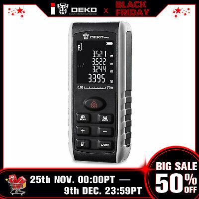 Deko 229ft Laser Distance Measure Device Electronic Continuous Measuring Tool