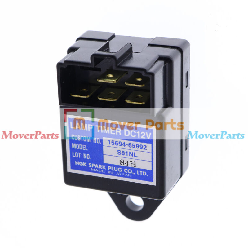 Glow Plug Relay SBA385870500 for New Holland TC35 TC35D TC40 TC40D TC45 TC45D