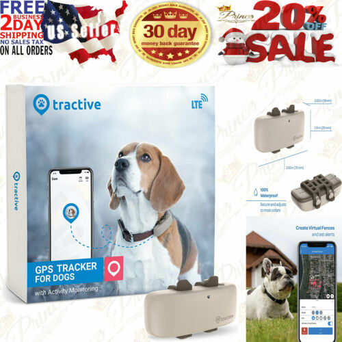 Tractive LTE GPS Dog Tracker - Location & Activity for Dogs with...