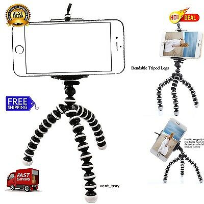Tripod Camera with Remote Phone Holder Mount Stand Universal 2017 iPhone 7 Plus