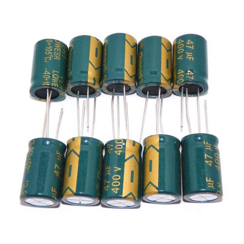100Pcs Electrolytic Capacitors 50V 470uF Volume 10x17 mm 470uF 50V