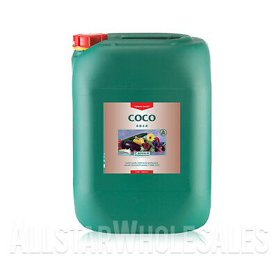 Canna Coco A - 20 Liter 20L Grow Veg Bloom Flower Hydroponics Base Nutrients
