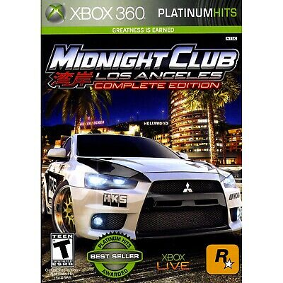Midnight Club: Los Angeles Complete Edition Xbox 360 [Brand New]
