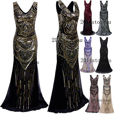 Long Prom Dresses Evening Gowns Wedding Bridesmaids Halloween Christmas Costumes