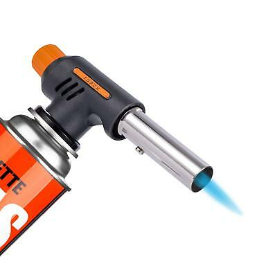 Multi-purpose Ignition Butane Gas Blow Torch Welding Flame Gun Outdoor Portable