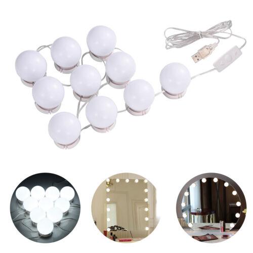 Vanity Mirror Light Kit für Make-up-Schminktisch 10 LED-Lampen