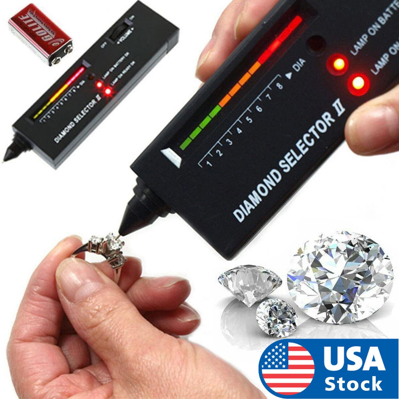 USA High Accuracy Professional Diamond Tester Gemstone Selector Jeweler Tool Kit Jewelry & Watches