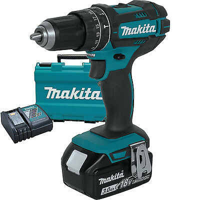 "18V LXT Li-Ion 1/2"" Hammer Driver-Drill Kit replaces XPH012 Makita XPH102 New"