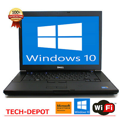 DELL Latitude Laptop Windows 10 Intel Core 2 Duo 4GB WiFi Notebook Computer HD
