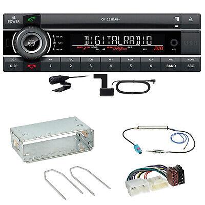 Kienzle CR 1225 DAB Digitalradio Bluetooth USB Einbauset für Mercedes Citan W415