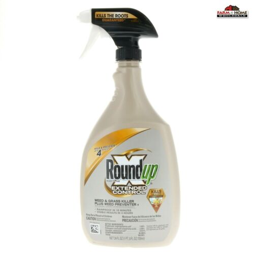 Scotts Roundup Extended Control Weed and Grass Killer ~ New
